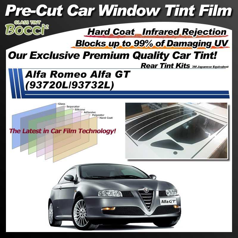 Alfa Romeo Alfa GT (93720L/93732L) Pre-Cut Car Tint Film UV IR 3M Japanese Equivalent
