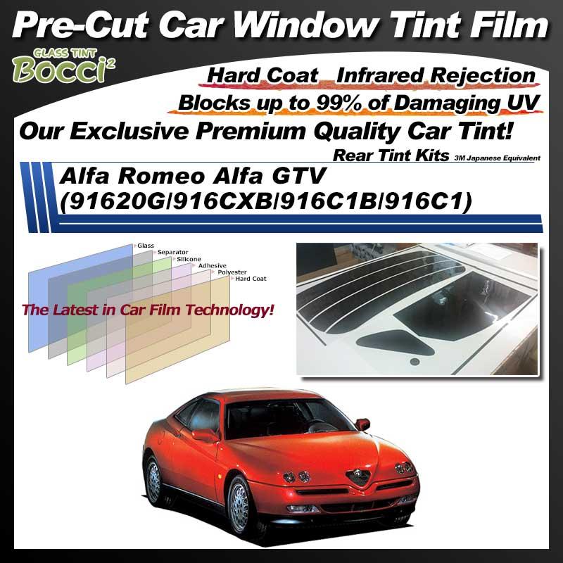 Alfa Romeo Alfa GTV (91620G/916CXB/916C1B/916C1) Pre-Cut Car Tint Film UV IR 3M Japanese Equivalent