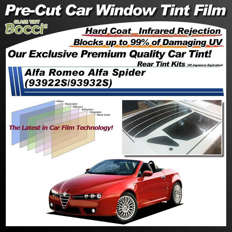 Alfa Romeo Alfa Spider (93922S/93932S) Pre-Cut Car Tint Film UV IR 3M Japanese Equivalent
