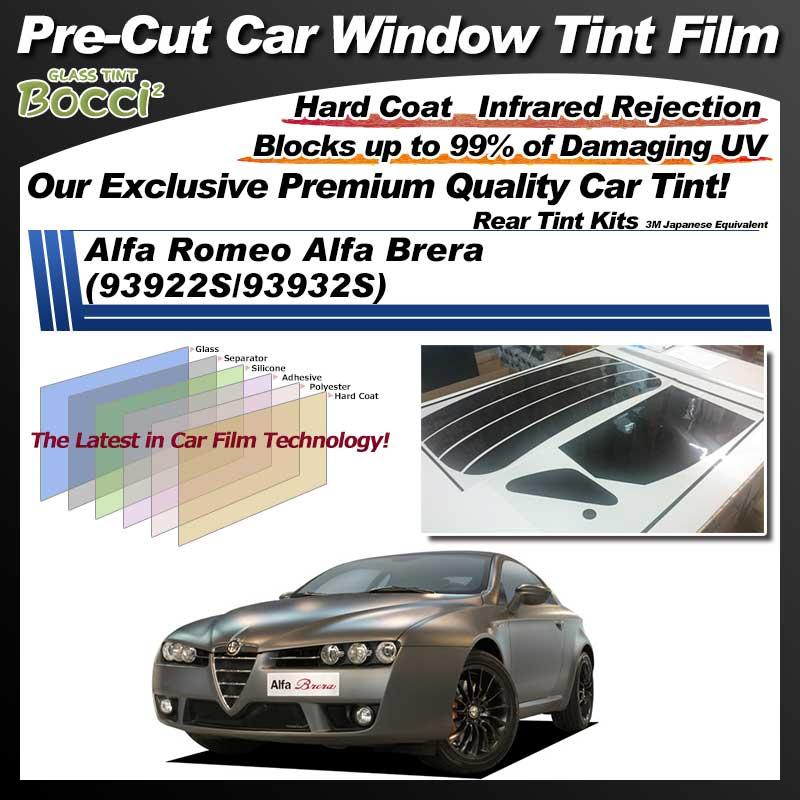 Alfa Romeo Alfa Brera (93922S/93932S) Pre-Cut Car Tint Film UV IR 3M Japanese Equivalent