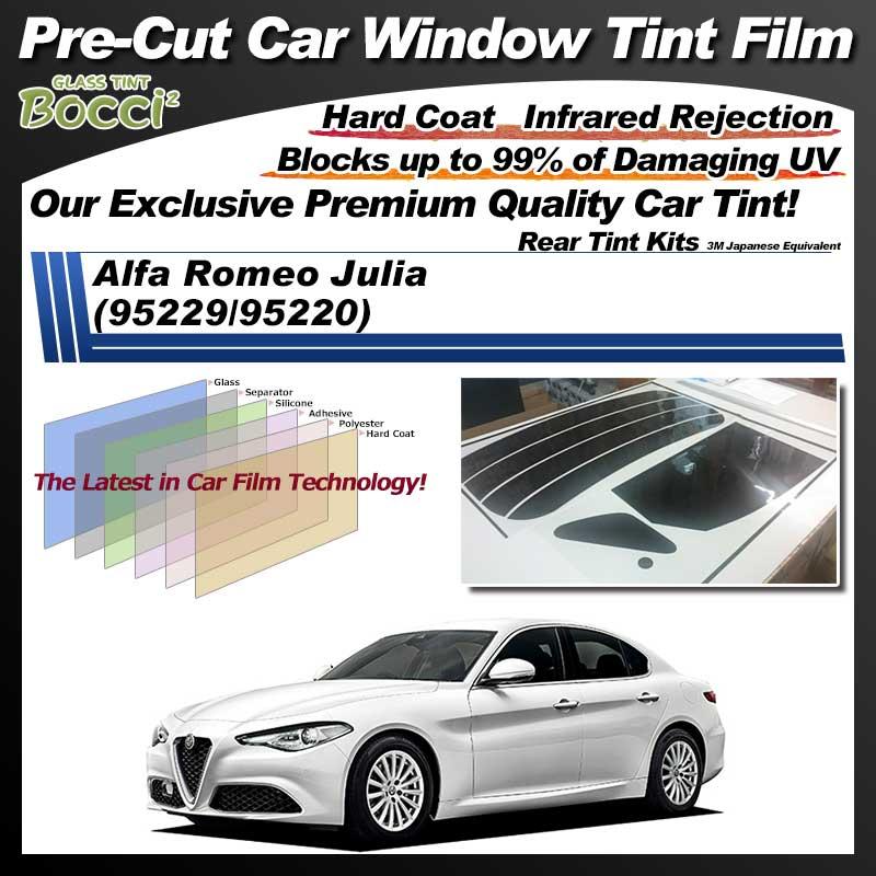 Alfa Romeo Julia (95229/95220) Pre-Cut Car Tint Film UV IR 3M Japanese Equivalent