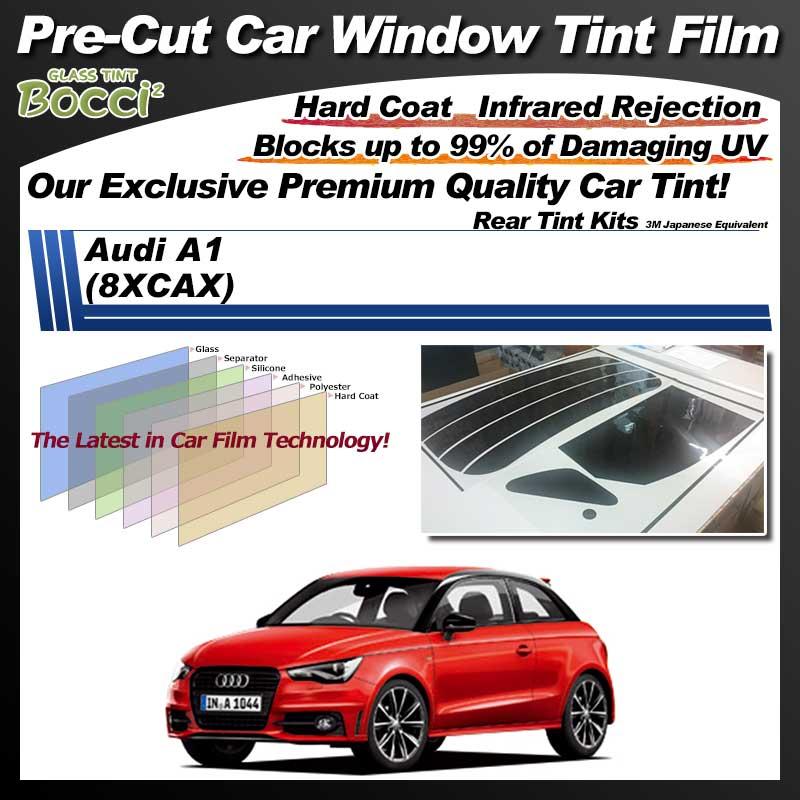 Audi A1 (8XCAX) Pre-Cut Car Tint Film UV IR 3M Japanese Equivalent