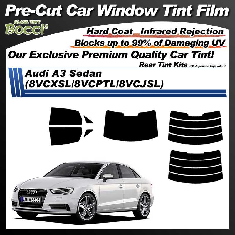 Audi A3 Sedan (8VCXSL/8VCPTL/8VCJSL) Pre-Cut Car Tint Film UV IR 3M Japanese Equivalent