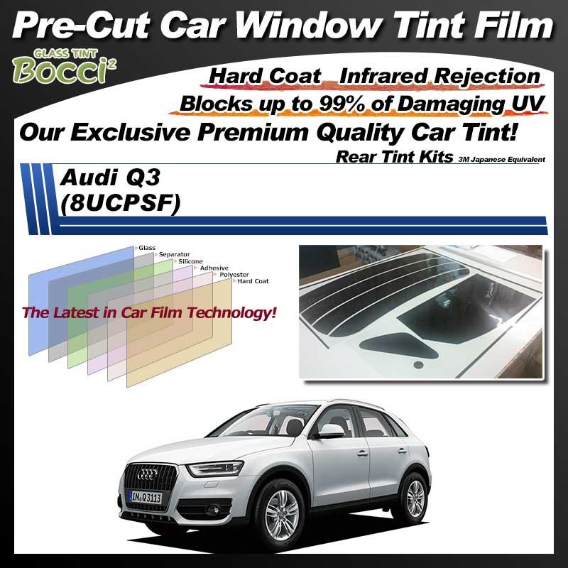 Audi Q3 (8UCPSF) Pre-Cut Car Tint Film UV IR 3M Japanese Equivalent