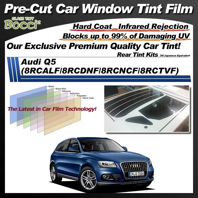 Audi Q5 (8RCALF/8RCDNF/8RCNCF/8RCTVF) Pre-Cut Car Tint Film UV IR 3M Japanese Equivalent