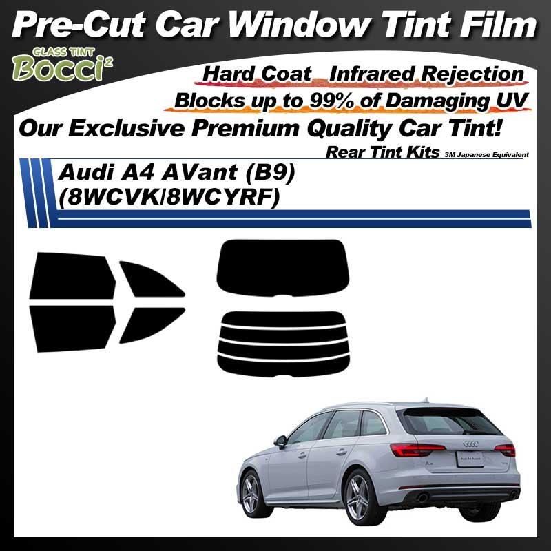 Audi A4 AVant (B9) (8WCVK/8WCYRF) Pre-Cut Car Tint Film UV IR 3M Japanese Equivalent