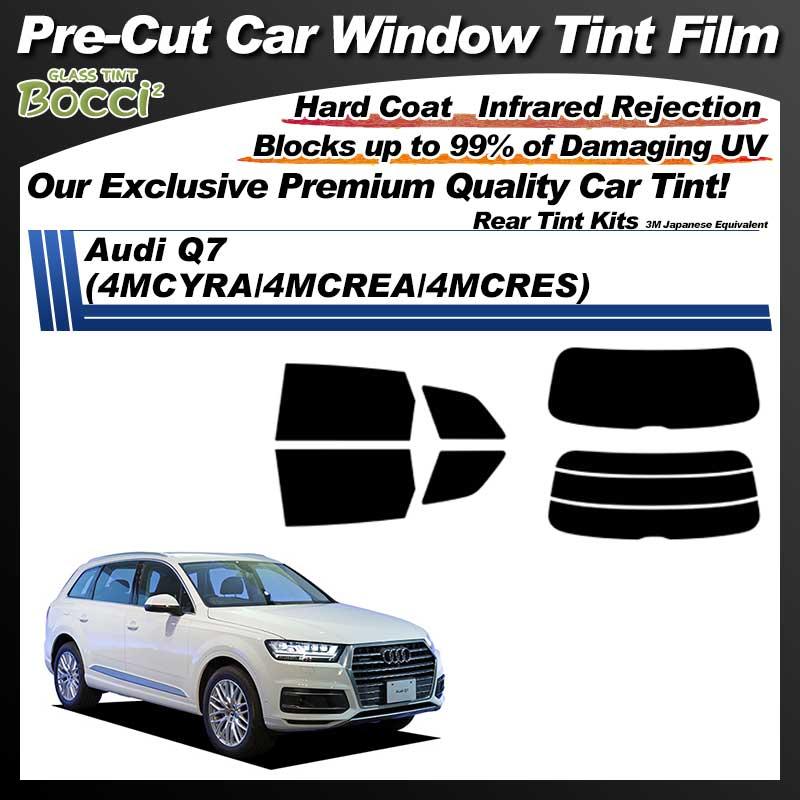 Audi Q7 (4MCYRA/4MCREA/4MCRES) Pre-Cut Car Tint Film UV IR 3M Japanese Equivalent