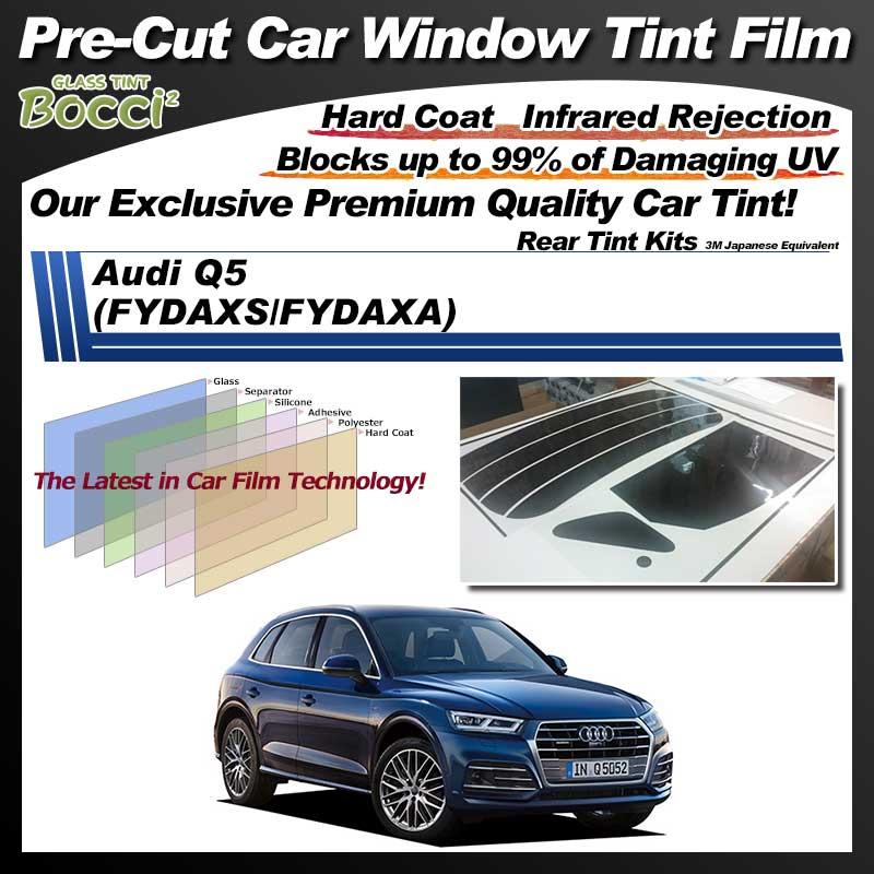 Audi Q5 (FYDAXS/FYDAXA) Pre-Cut Car Tint Film UV IR 3M Japanese Equivalent