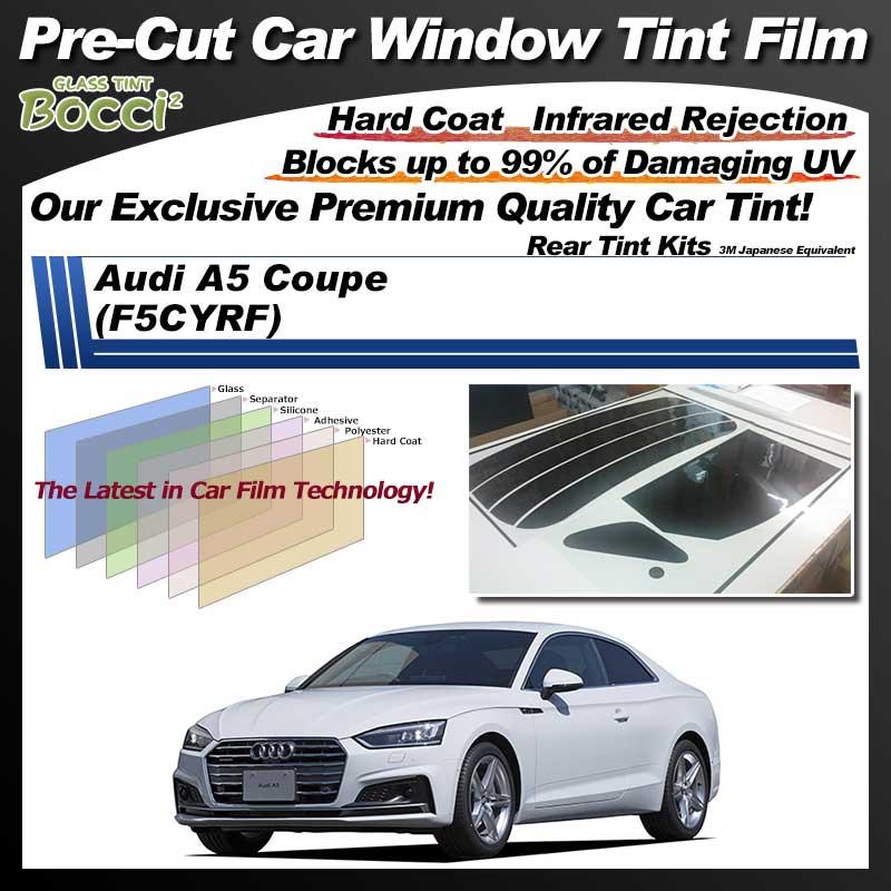 Audi A5 Coupe (F5CYRF) Pre-Cut Car Tint Film UV IR 3M Japanese Equivalent