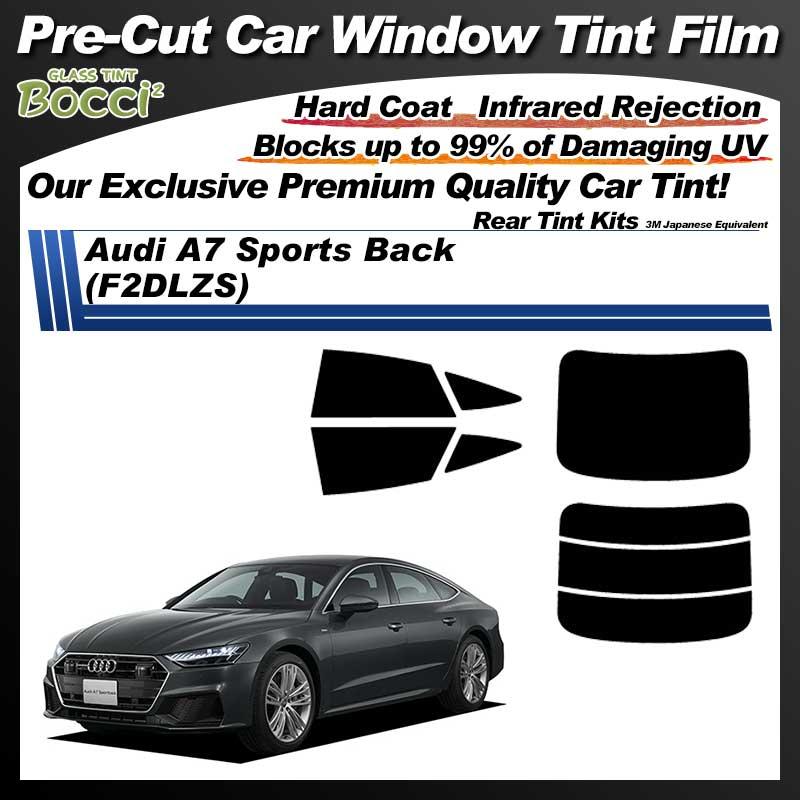 Audi A7 Sports Back (F2DLZS) Pre-Cut Car Tint Film UV IR 3M Japanese Equivalent