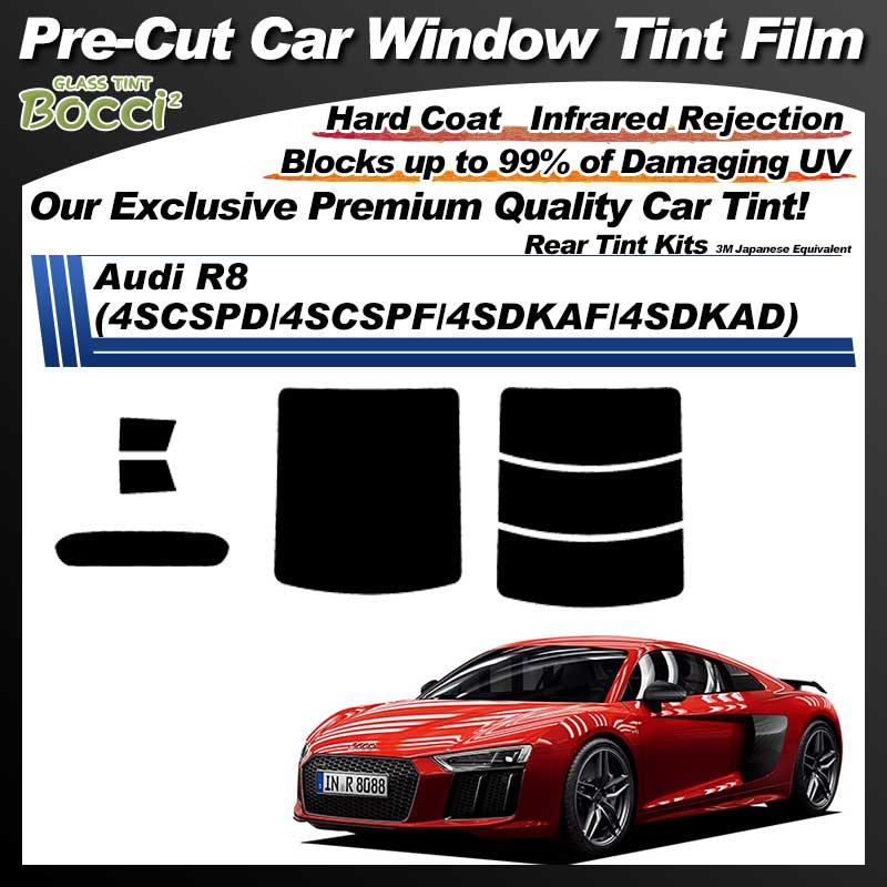 Audi R8 (4SCSPD/4SCSPF/4SDKAF/4SDKAD) Pre-Cut Car Tint Film UV IR 3M Japanese Equivalent