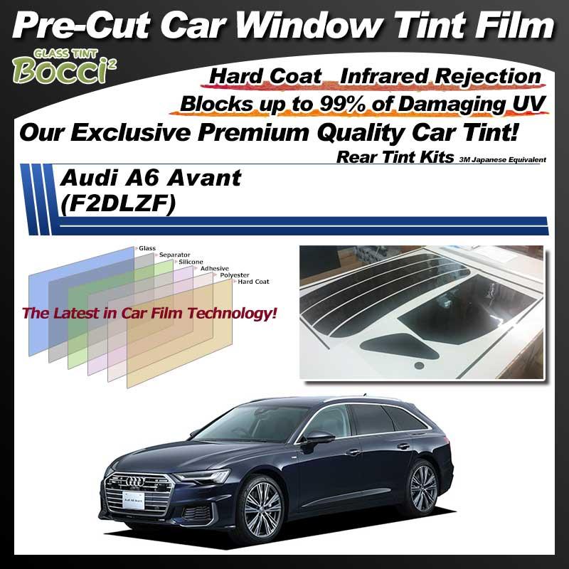 Audi A6 Avant (F2DLZF) Pre-Cut Car Tint Film UV IR 3M Japanese Equivalent
