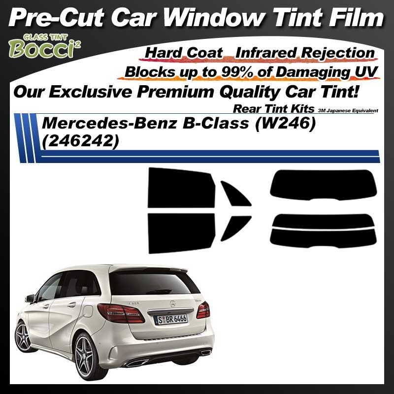Mercedes-Benz B-Class (W246) (246242) Pre-Cut Car Tint Film UV IR 3M Japanese Equivalent