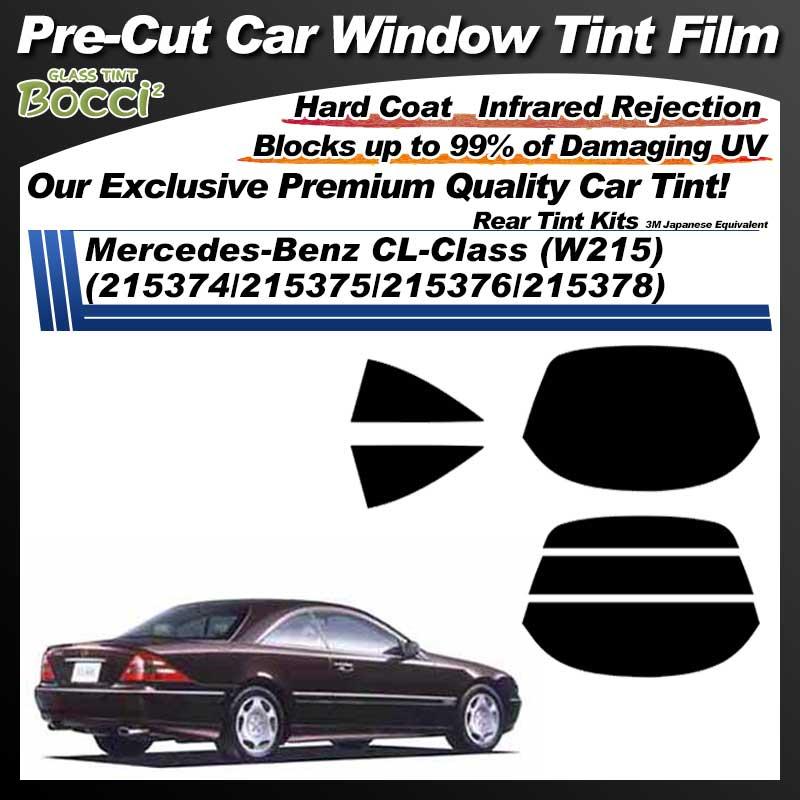 Mercedes-Benz CL-Class (W215) (215374/215375/215376/215378) Pre-Cut Car Tint Film UV IR 3M Japanese Equivalent