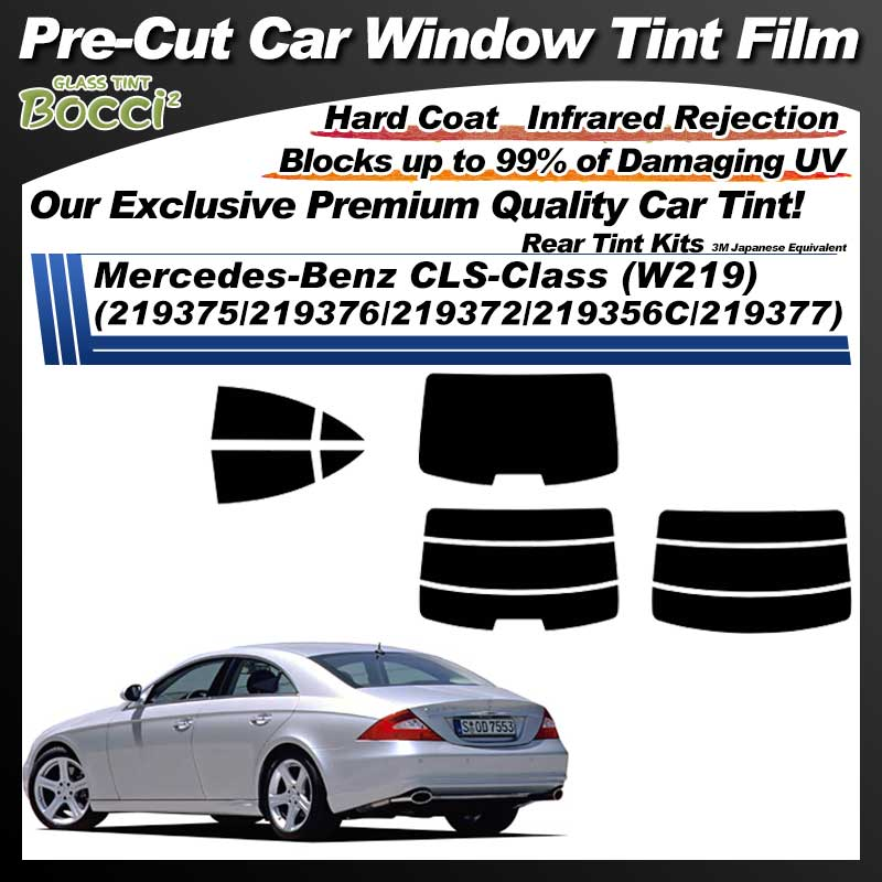 Mercedes-Benz CLS-Class (W219) (219375/219376/219372/219356C/219377) Pre-Cut Car Tint Film UV IR 3M Japanese Equivalent