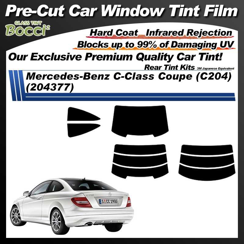 Mercedes-Benz C-Class Coupe (C204) (204377) Pre-Cut Car Tint Film UV IR 3M Japanese Equivalent