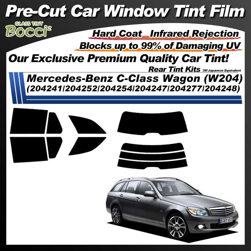 Mercedes-Benz C-Class Wagon (W204) (204241/204252/204254/204247/204277/204248) Pre-Cut Car Tint Film UV IR 3M Japanese Equivalent