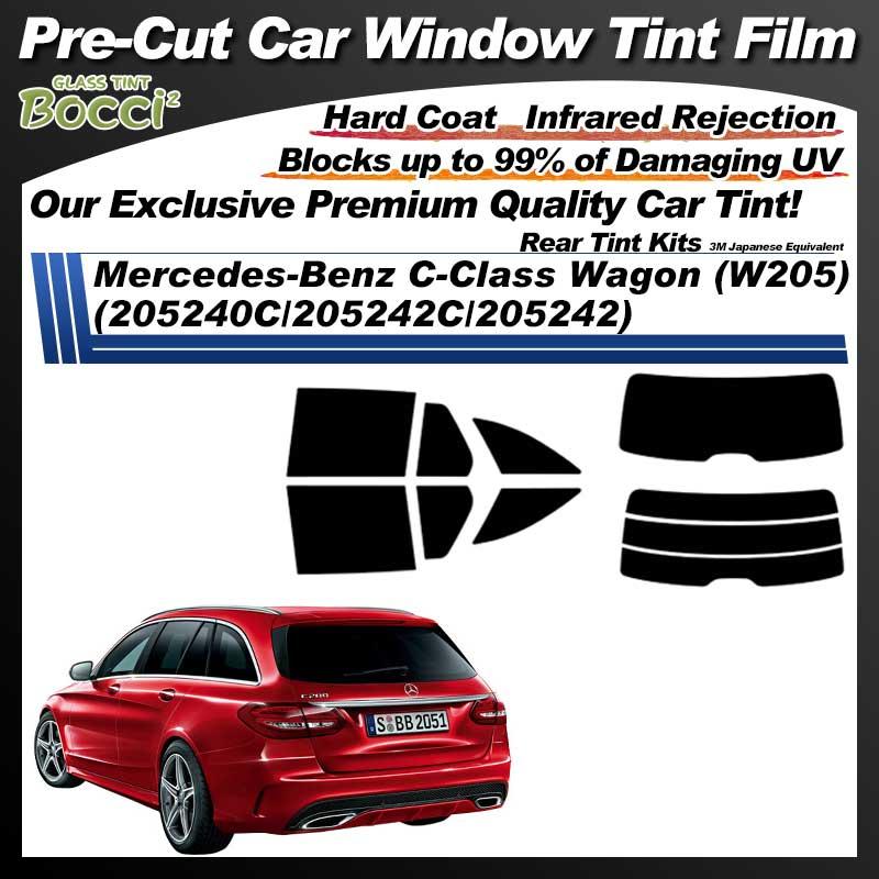 Mercedes-Benz C-Class Wagon (W205) (205240C/205242C/205242) Pre-Cut Car Tint Film UV IR 3M Japanese Equivalent