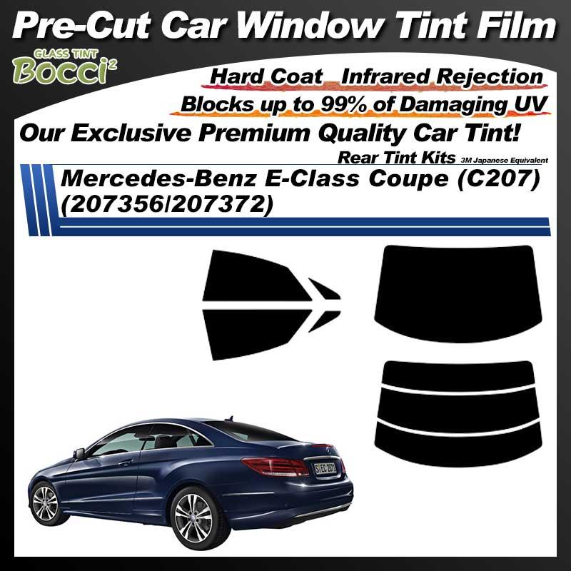 Mercedes-Benz E-Class Coupe (C207) (207356/207372) Pre-Cut Car Tint Film UV IR 3M Japanese Equivalent