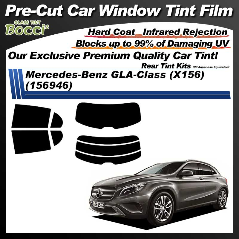 Mercedes-Benz GLA-Class (X156) (156946) Pre-Cut Car Tint Film UV IR 3M Japanese Equivalent