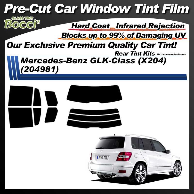 Mercedes-Benz GLK-Class (204981) Pre-Cut Car Tint Film UV IR 3M Japanese Equivalent