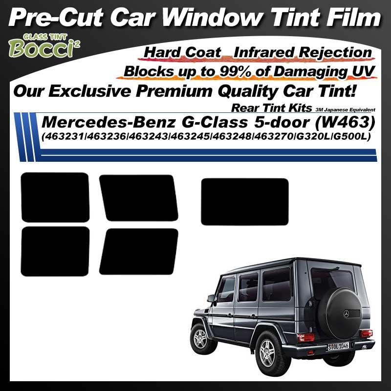 Mercedes-Benz G-Class 5-door (W463) (463231/463236/463243/463245/463248/463270/G320L/G500L) Pre-Cut Car Tint Film UV IR 3M Japanese Equivalent