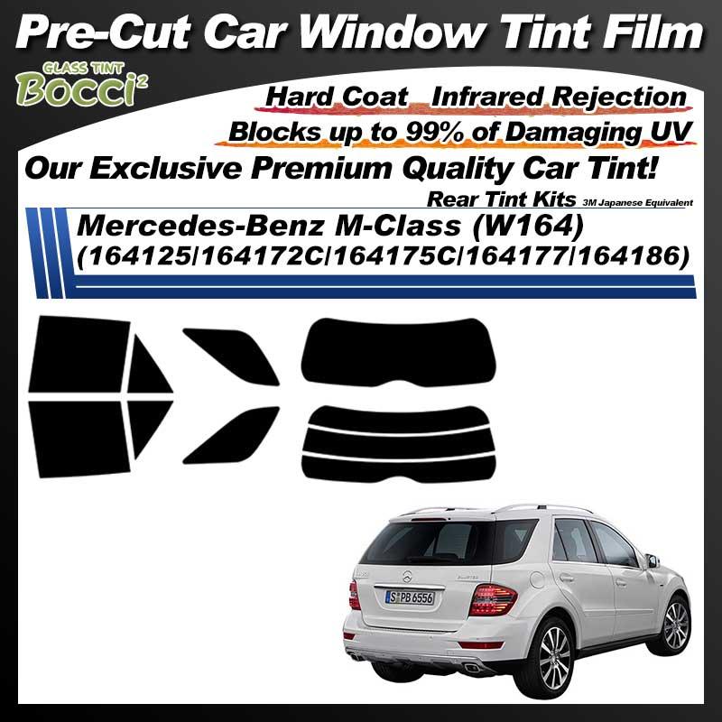 Mercedes-Benz M-Class (W164) (164125/164172C/164175C/164177/164186) Pre-Cut Car Tint Film UV IR 3M Japanese Equivalent