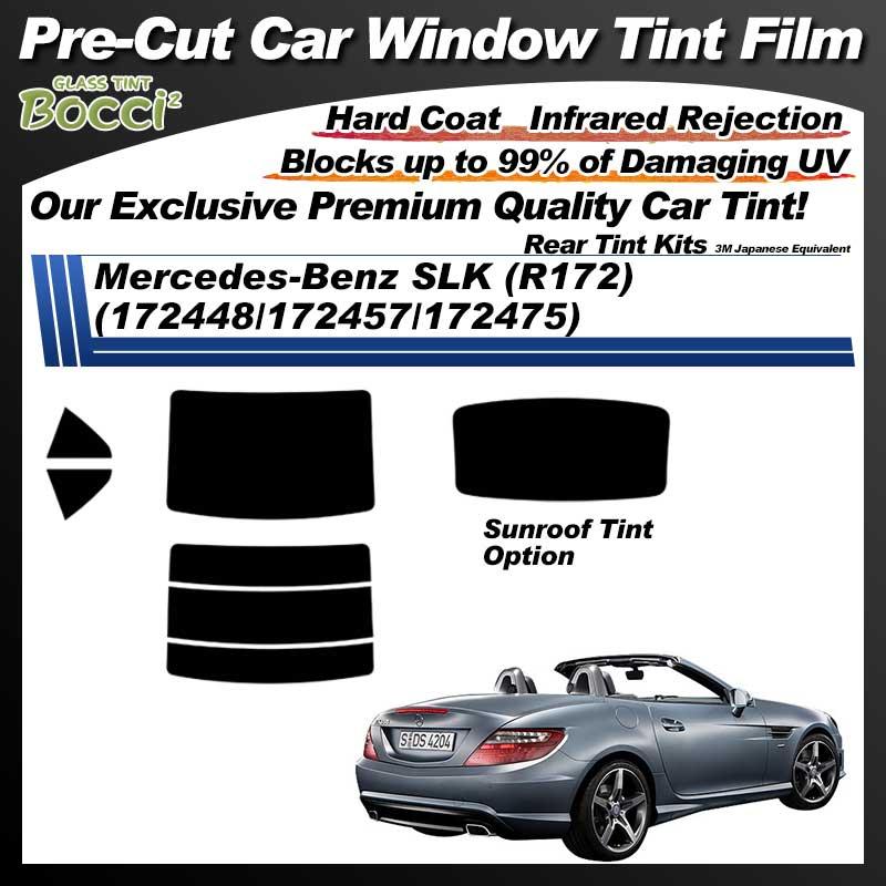 Mercedes-Benz SLK (R172) (172448/172457/172475) With Sunroof Pre-Cut Car Tint Film UV IR 3M Japanese Equivalent