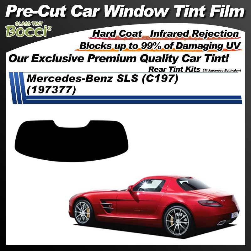 Mercedes-Benz SLS (C197) (197377) Pre-Cut Car Tint Film UV IR 3M Japanese Equivalent