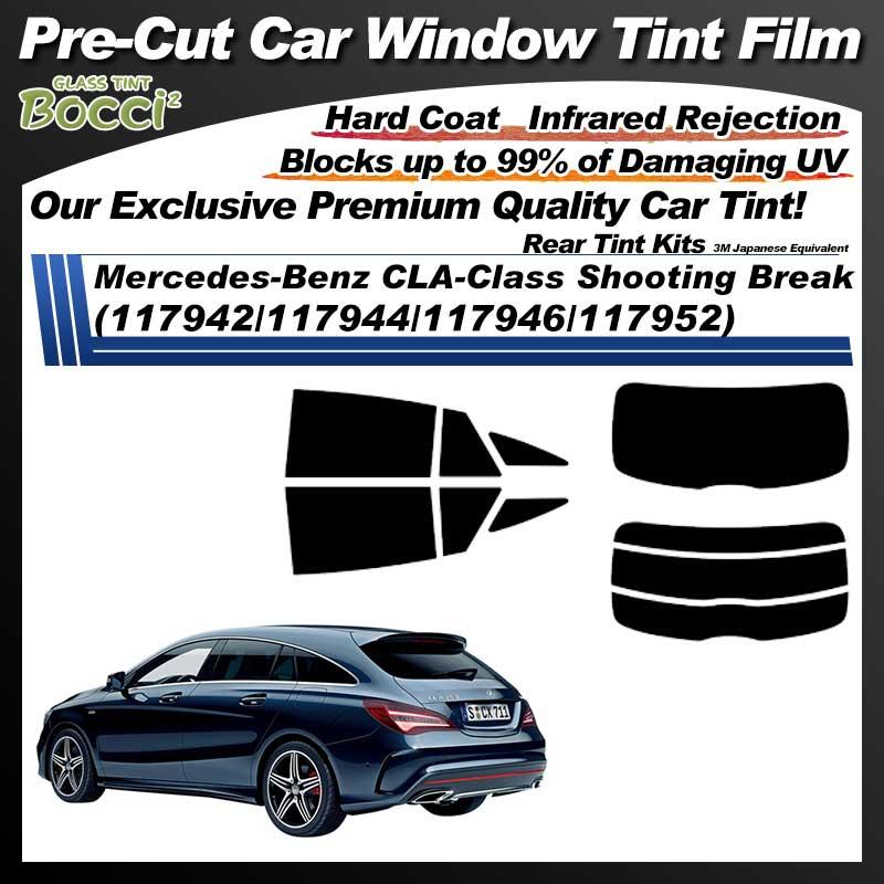 Mercedes-Benz CLA-Class Shooting Break (117942/117944/117946/117952) Pre-Cut Car Tint Film UV IR 3M Japanese Equivalent