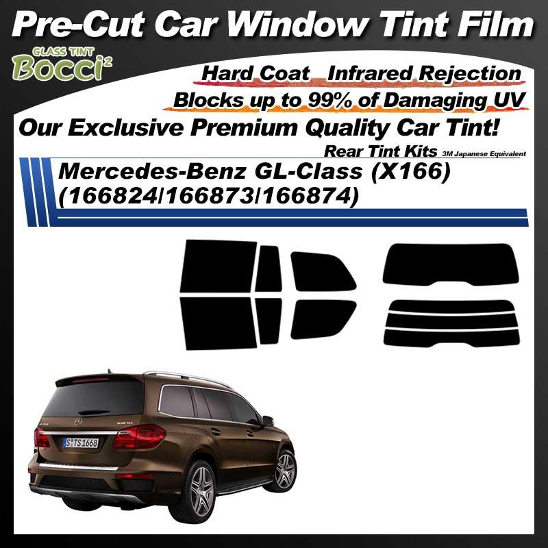 Mercedes-Benz GL-Class (X166) (166824/166873/166874) Pre-Cut Car Tint Film UV IR 3M Japanese Equivalent