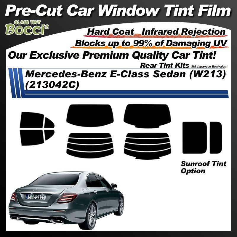Mercedes-Benz E-Class Sedan (W213) (213042C) With Sunroof Pre-Cut Car Tint Film UV IR 3M Japanese Equivalent