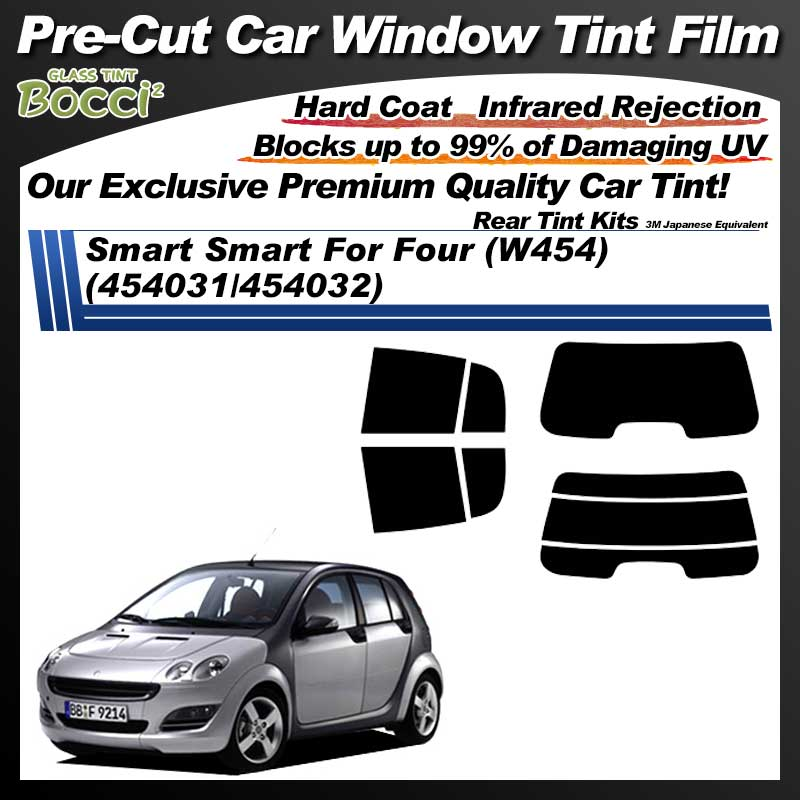Smart Smart For Four (W454) (454031/454032) Pre-Cut Car Tint Film UV IR 3M Japanese Equivalent