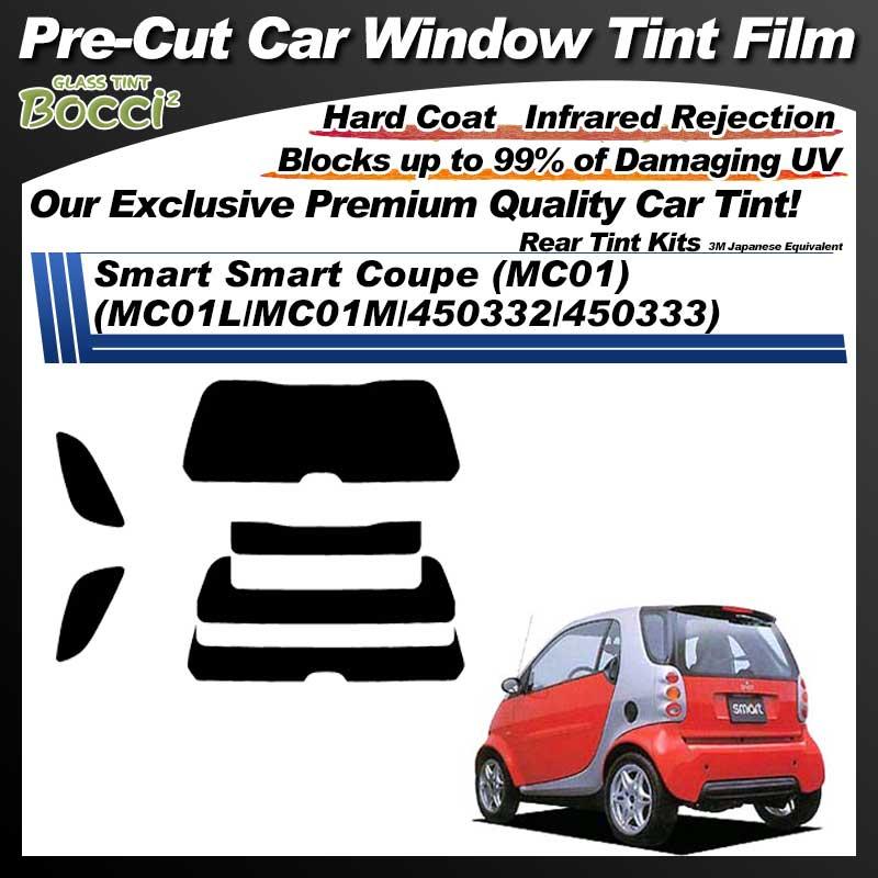 Smart Smart Coupe (MC01) (MC01L/MC01M/450332/450333) Pre-Cut Car Tint Film UV IR 3M Japanese Equivalent