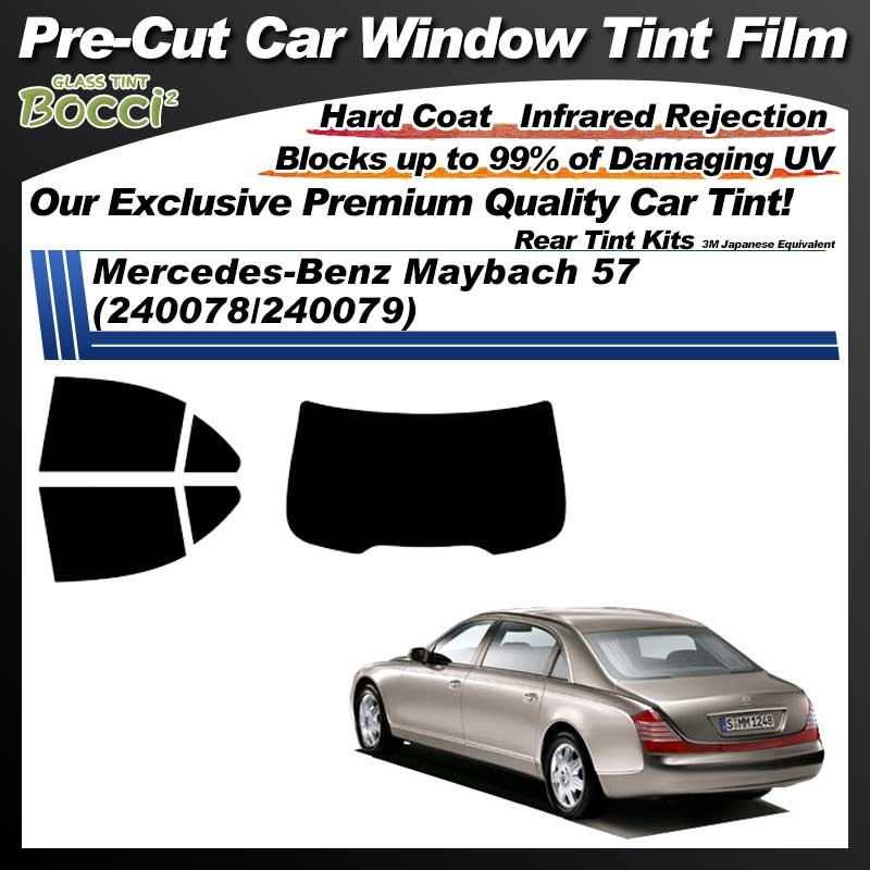 Mercedes-Benz Maybach 57 (240078/240079) Pre-Cut Car Tint Film UV IR 3M Japanese Equivalent