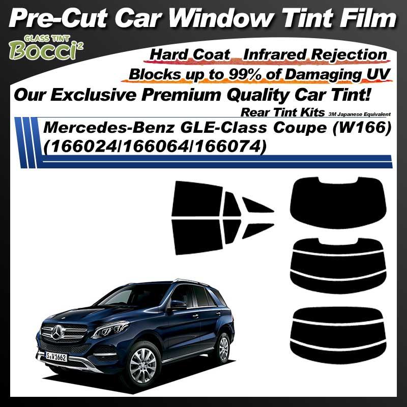 Mercedes-Benz GLE-Class Coupe (W166) (166024/166064/166074) Pre-Cut Car Tint Film UV IR 3M Japanese Equivalent