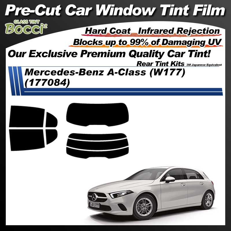 Mercedes-Benz A-Class (W177) (177084) Pre-Cut Car Tint Film UV IR 3M Japanese Equivalent