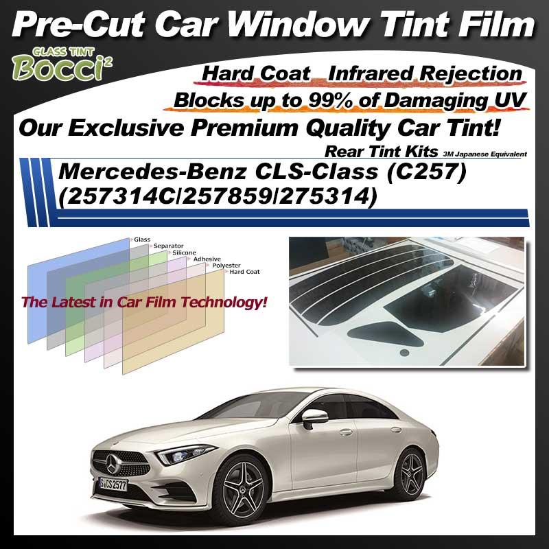 Mercedes-Benz CLS-Class (C257) (257314C/257859/275314) Pre-Cut Car Tint Film UV IR 3M Japanese Equivalent