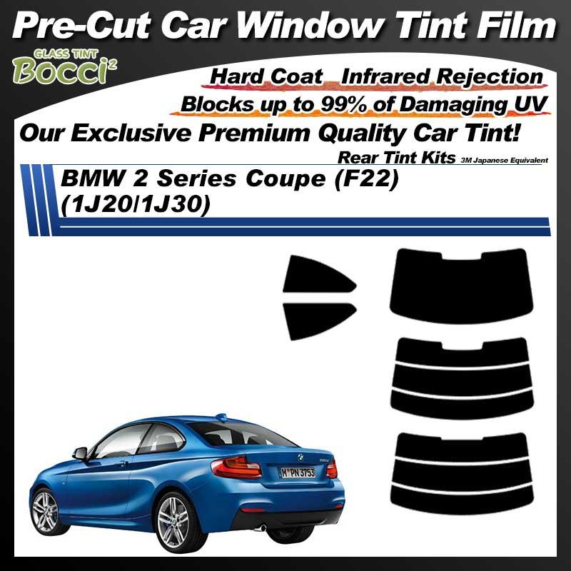 BMW 2 Series Coupe (F22) (1J20/1J30) Pre-Cut Car Tint Film UV IR 3M Japanese Equivalent