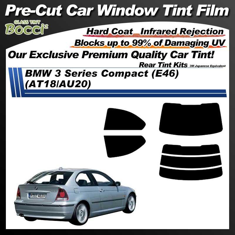 BMW 3 Series Compact (AT18/AU20) Pre-Cut Car Tint Film UV IR 3M Japanese Equivalent