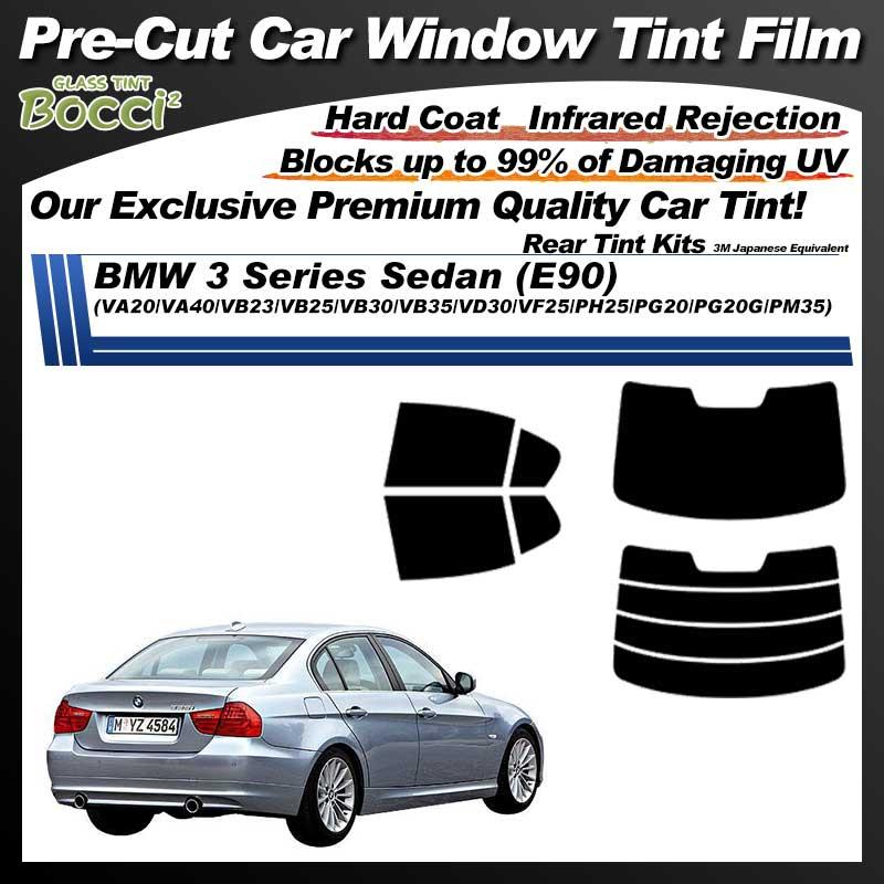 BMW 3 Series Sedan (E90) (VA20/VA40/VB23/VB25/VB30/VB35/VD30/VF25/PH25/PG20/PG20G/PM35) Pre-Cut Car Tint Film UV IR 3M Japanese Equivalent