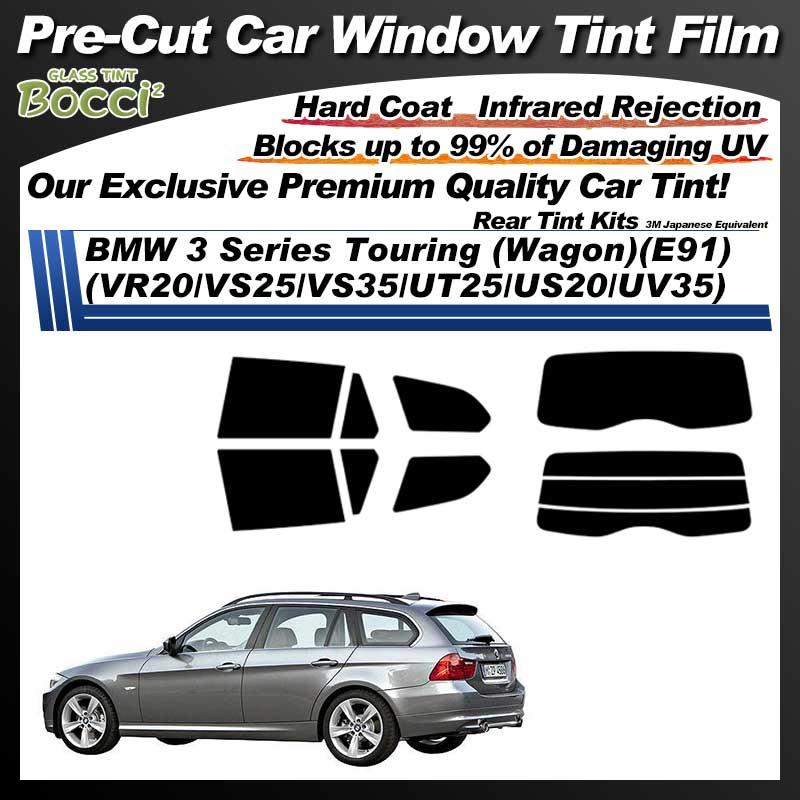 BMW 3 Series Touring (Wagon)(E91) (VR20/VS25/VS35/UT25/US20/UV35) Pre-Cut Car Tint Film UV IR 3M Japanese Equivalent