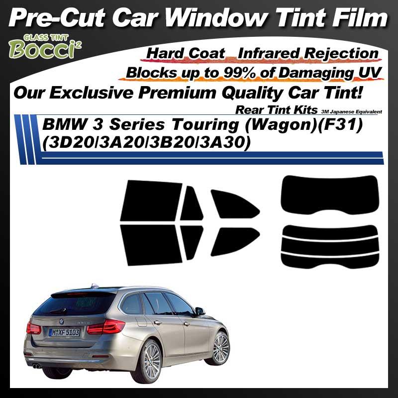 BMW 3 Series Touring (Wagon)(F31) (3D20/3A20/3B20/3A30) Pre-Cut Car Tint Film UV IR 3M Japanese Equivalent