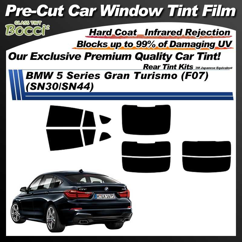 BMW 5 Series Gran Turismo (F07) (SN30/SN44) Pre-Cut Car Tint Film UV IR 3M Japanese Equivalent