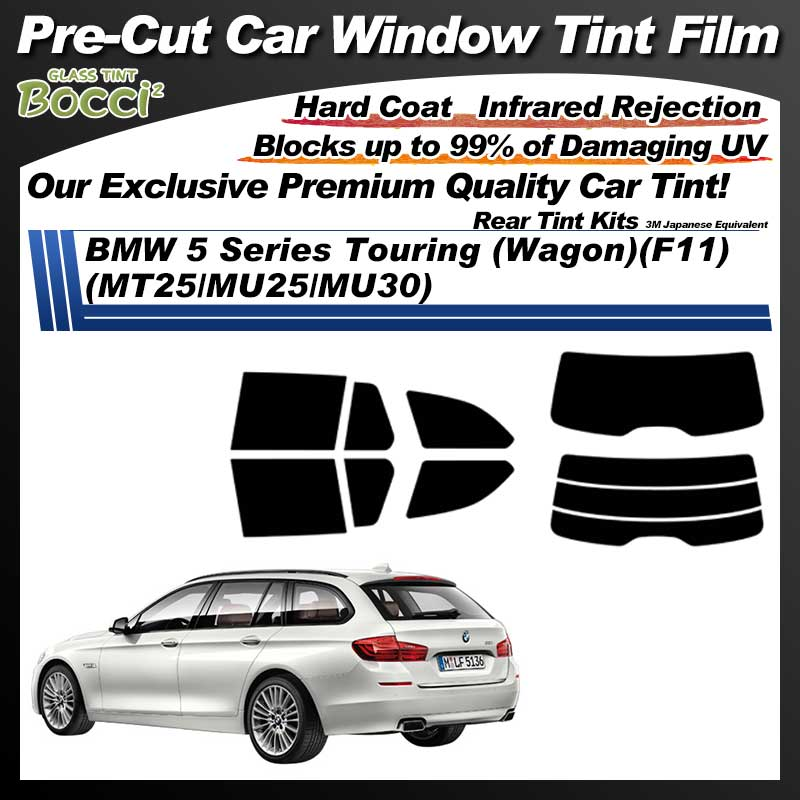 BMW 5 Series Touring (Wagon)(F11) (MT25/MU25/MU30) Pre-Cut Car Tint Film UV IR 3M Japanese Equivalent