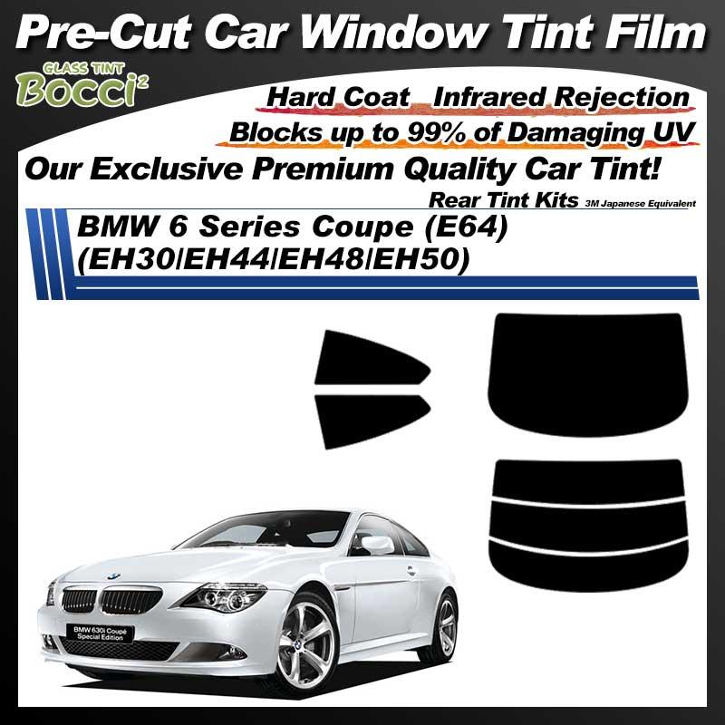 BMW 6 Series Coupe (E64) (EH30/EH44/EH48/EH50) Pre-Cut Car Tint Film UV IR 3M Japanese Equivalent