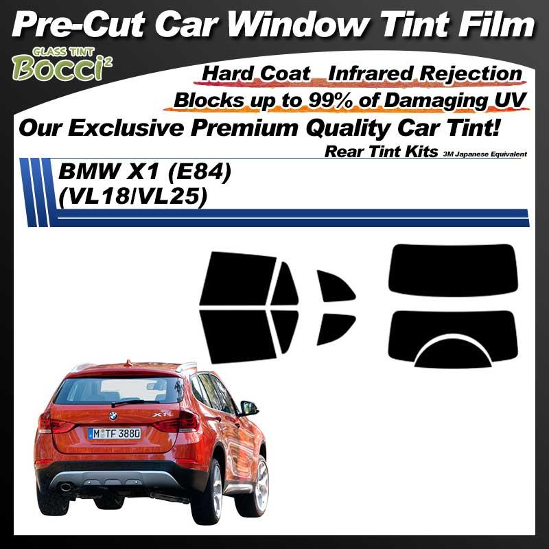 BMW X1 (E84) (VL18/VL25) Pre-Cut Car Tint Film UV IR 3M Japanese Equivalent