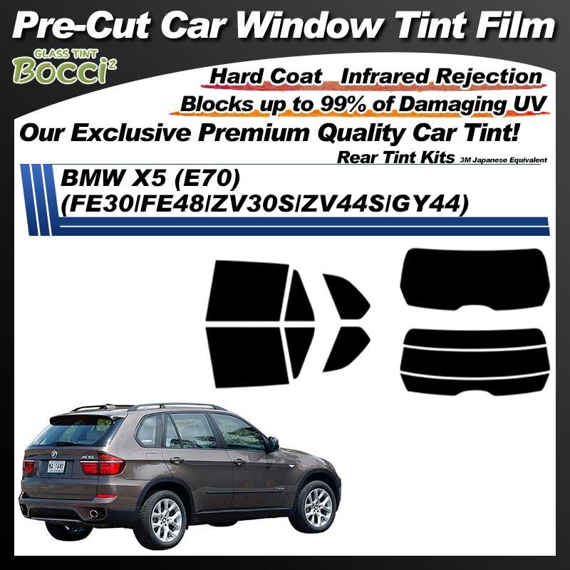 BMW X5 (E70) (FE30/FE48/ZV30S/ZV44S/GY44) Pre-Cut Car Tint Film UV IR 3M Japanese Equivalent