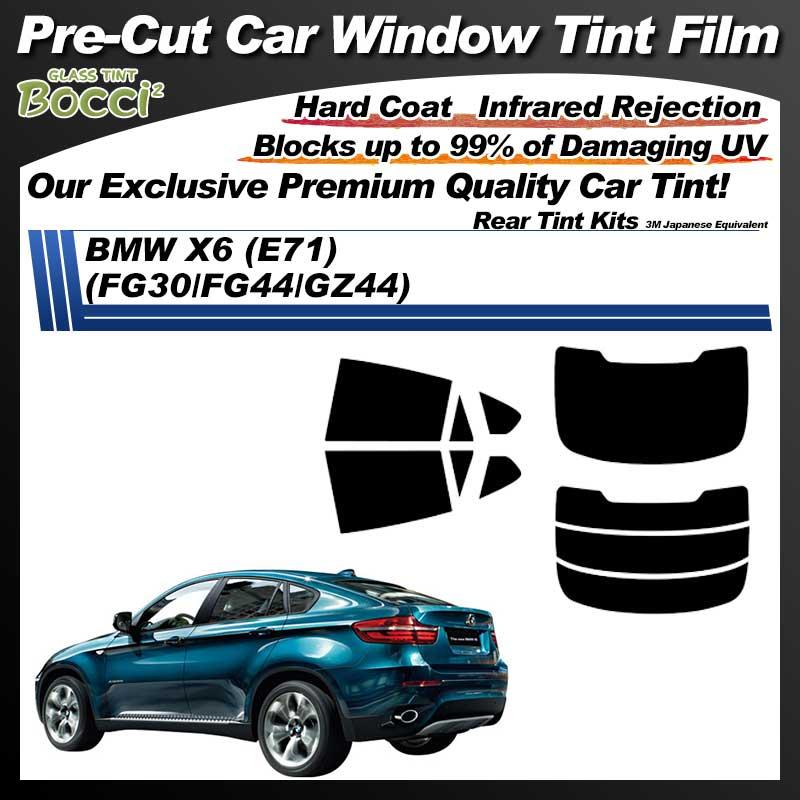 BMW X6 (E71) (FG30/FG44/GZ44) Pre-Cut Car Tint Film UV IR 3M Japanese Equivalent