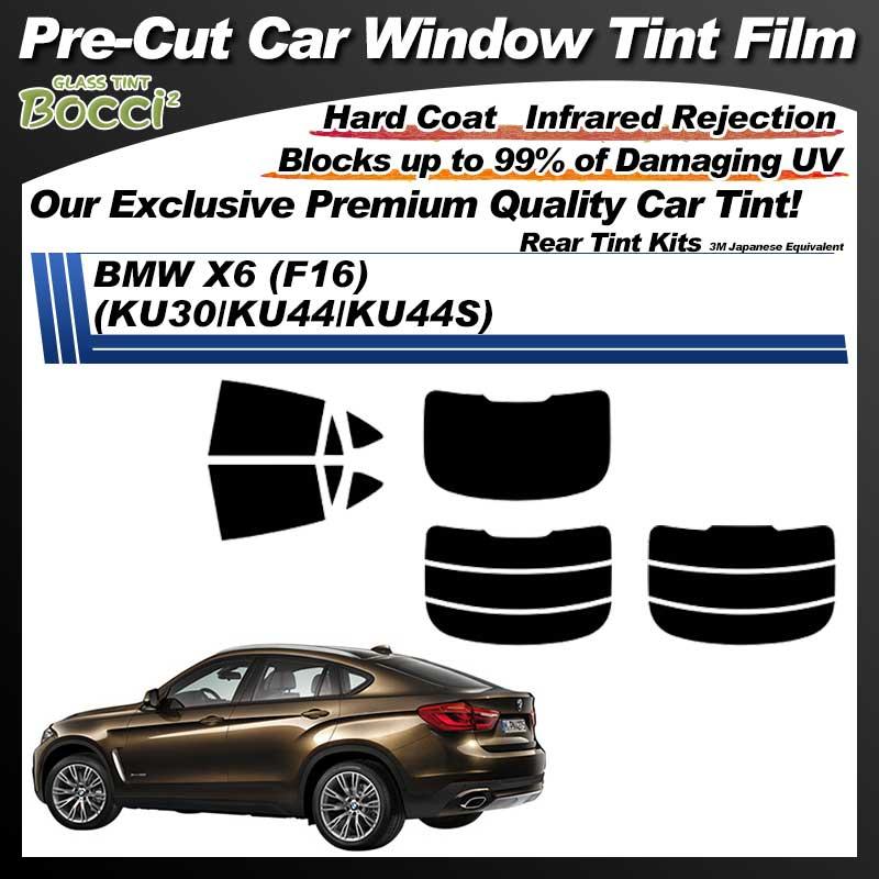 BMW X6 (F16) (KU30/KU44/KU44S) Pre-Cut Car Tint Film UV IR 3M Japanese Equivalent